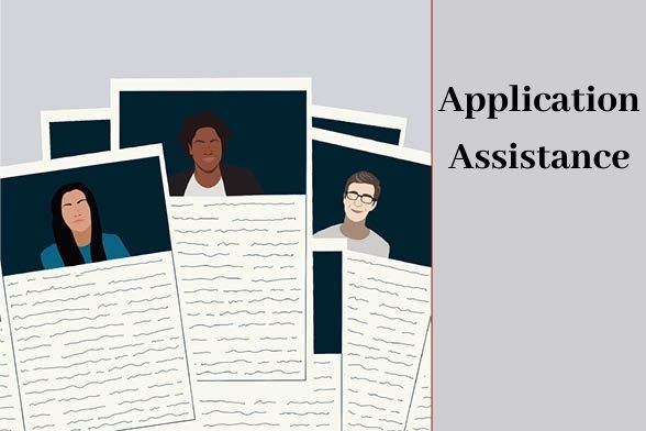 Application Assistance Graphic
