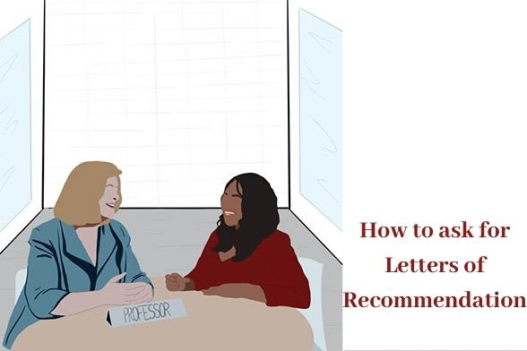 How to Ask for Letters of Recommendation Graphic